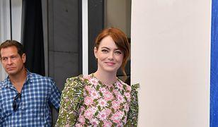 Emma Stone niczym kwiatowa wróżka
