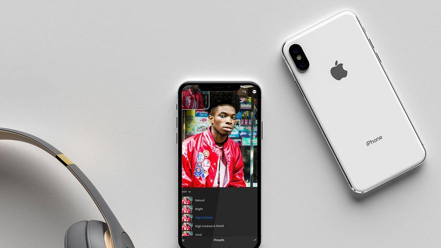 Lightroom na iOS doczekał się nowej odsłony