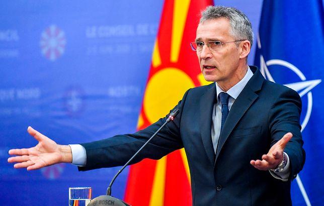 Macedonia jest już w NATO - poinformował sekretarz generalny Sojuszu Północnoatlantyckiego Jens Stoltenberg