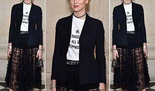 Włoska blogerka wśród gości pokazu haute couture marki Dior