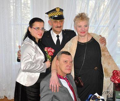 Bezdomni wzięli ślub. Na świadka poprosili strażnika miejskiego