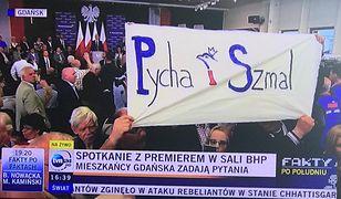 Na spotkaniu z Mateuszem Morawieckim w Gdańsku doszło do awantury