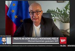 """Kamiński: """"Kaczyński robi rewolucję"""""""