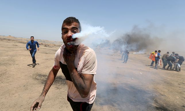 """Gaza: Krwawy bilans """"dnia Jerozolimy"""". Cztery ofiary śmiertelne"""