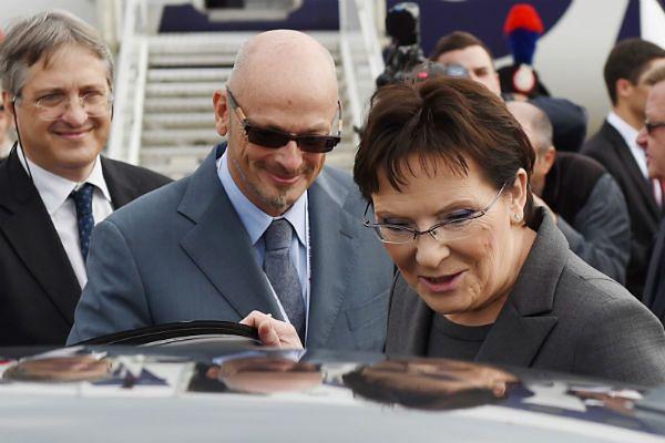 Premier Ewa Kopacz już w Mediolanie. Uda się na szczyt ASEM