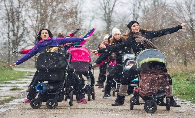 RUSZ SIĘ zimą z ByggyGym – bezpłatny trening dla mam z dziećmi w wózkach