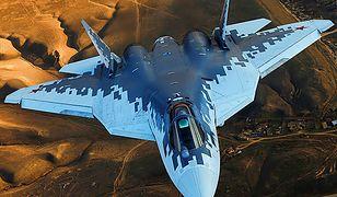 Rosyjski odpowiednik F-35. Suchoj pracuje nad nowym samolotem 5. generacji