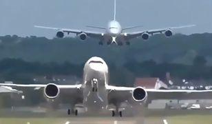 Low pass, czyli niski przelot samolotu. Te nagrania wgniatają w fotel [Wideo]