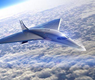 Naddźwiękowy odrzutowiec nowej generacji. Boom Overture to przyszłość lotnictwa