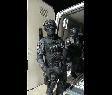Uzbrojenie meksykańskiego kartelu narkotykowego. Wyposażenie robi wrażenie