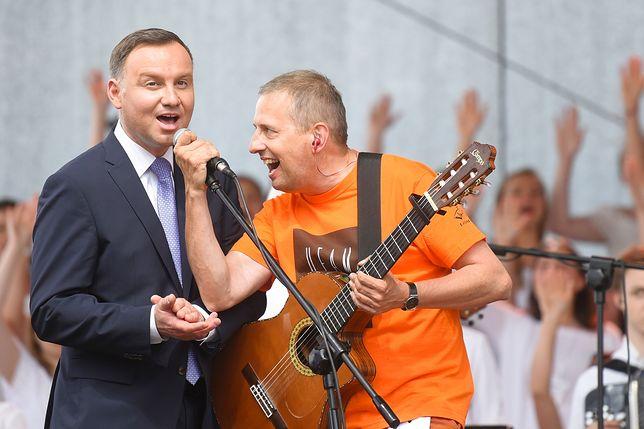 Andrzej Duda był specjalnym gościem podczas Spotkania Młodych w Lednicy