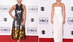 Najpiękniejsze kreacje na gali People's Choice Awards