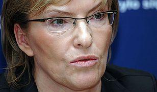 Minister Kopacz zapowiada kontrolę po śmierci pacjentki