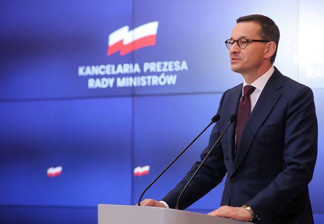 Mateusz Morawiecki o aferze z Marianem Banasiem