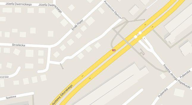 Sikorskiego na mapie Google