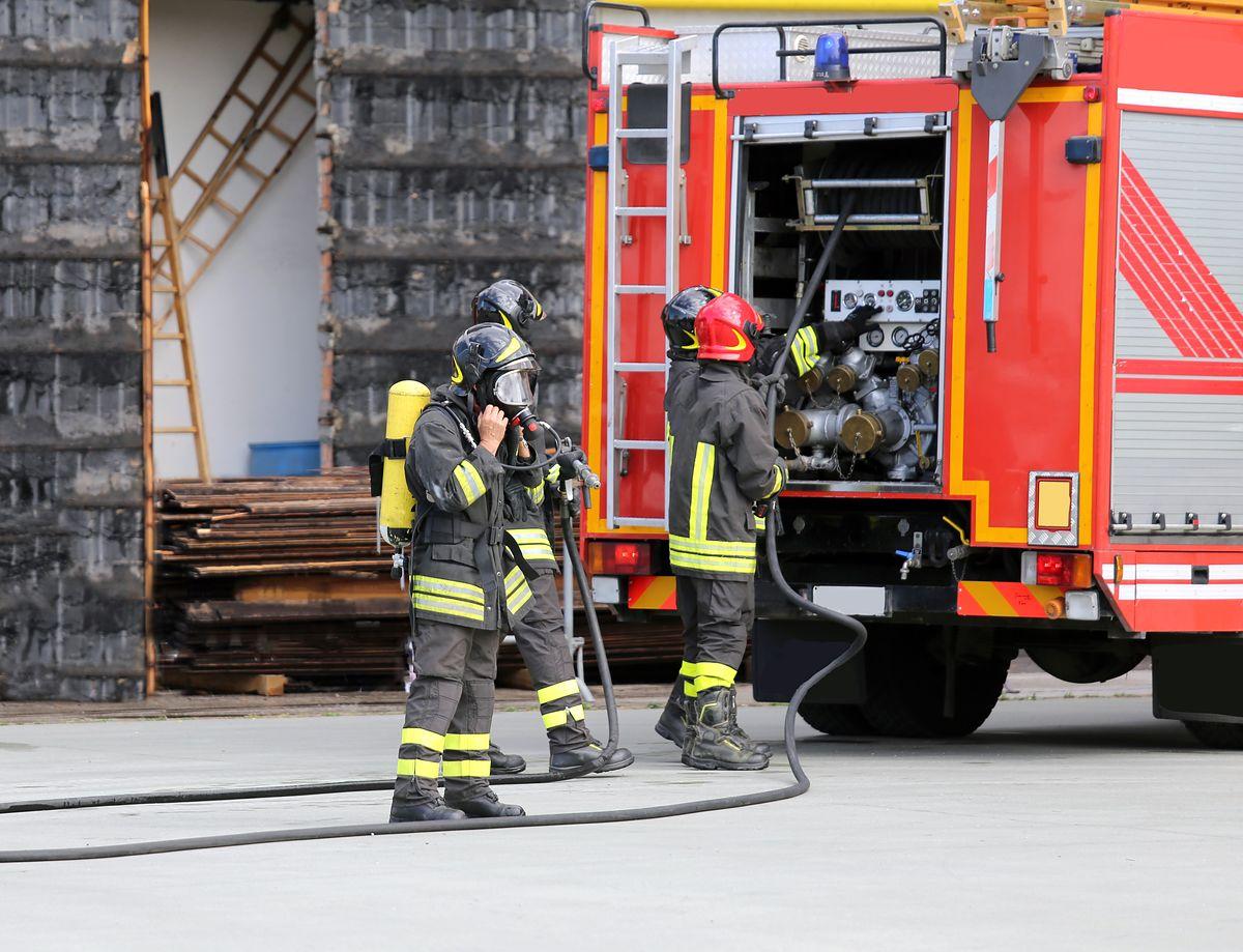 Pożar w Markach. Spłonął dom jednorodzinny