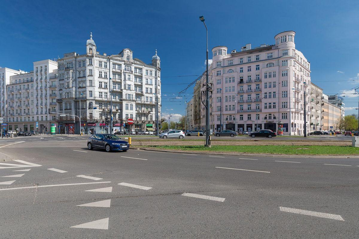 Warszawa. Na pl. Unii Lubelskiej doszło do kolizji