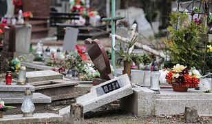 Olsztyn. Zdewastowane groby dzieci. Zarzuty