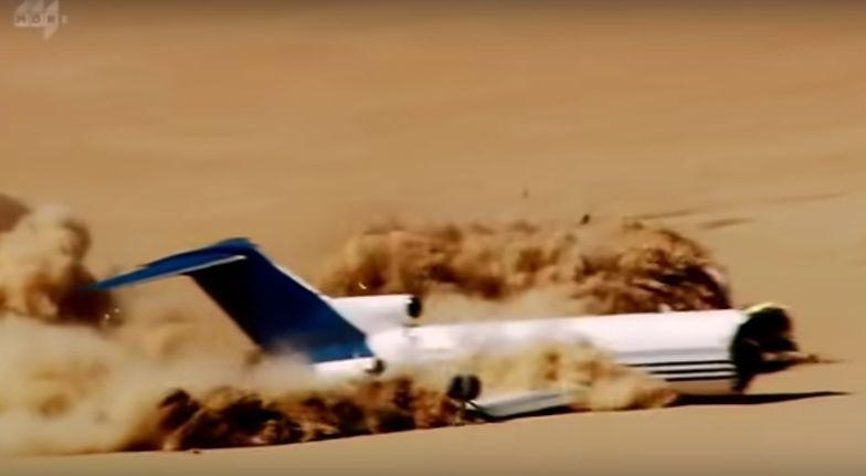 Nagranie pokazuje, kto jest najbardziej zagrożony w samolocie
