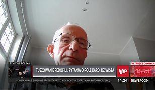 """Zgłosił Stanisławowi Dziwiszowi problem molestowania. """"Poprosił, by na kolacji z papieżem tego nie poruszać"""""""