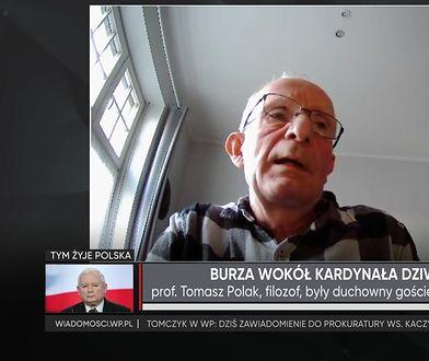 """Kard. Stanisław Dziwisz mówi prawdę? Prof. Tomasz Polak: """"próbuje uniknąćodpowiedzialności"""""""