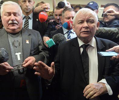 """""""Wyraźna linia frontu"""". Niemiecki dziennik o sporze Wałęsa-Kaczyński"""