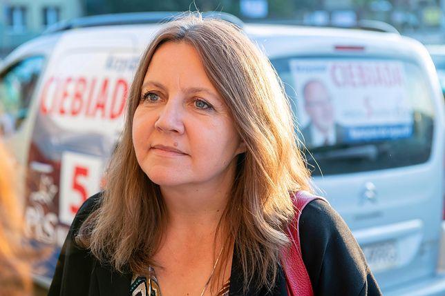 Joanna Lichocka pytana była również o Krystynę Pawłowicz