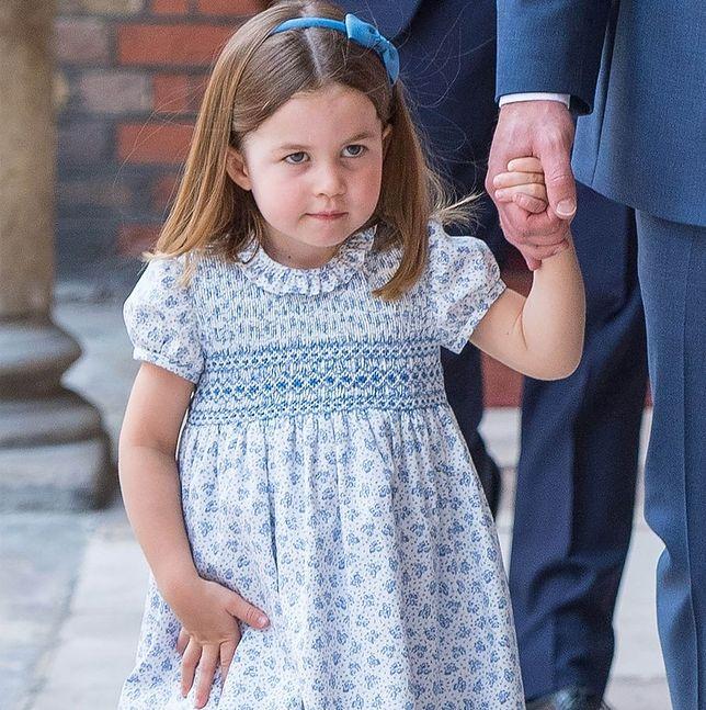 Księżniczka Charlotte pokazała maniery arysokratki