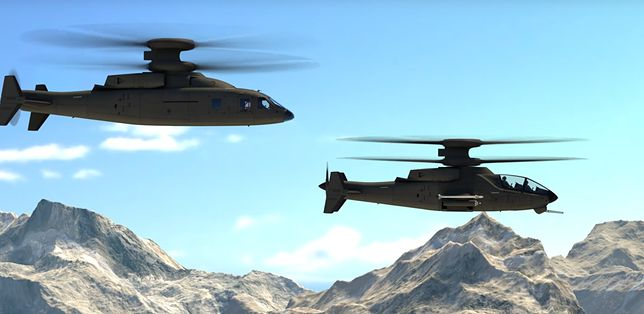 Sikorsky i Boeing prezentują szturmowy śmigłowiec przyszłości