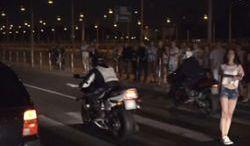 #dziejesiewmoto: nielegalne nocne wyścigi w Warszawie