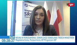 """Magdalena Sroka: """"Jarosław Kaczyński wiedział o planie Adama Bielana"""". Kamil Bortniczuk ripostuje"""