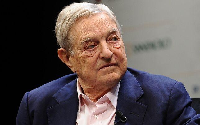George Soros jest wśród miliarderów, którzy chcą opodatkować swoje fortuny