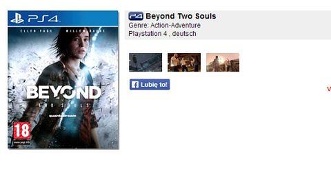 Kolejne wskazówki odnośnie Beyond: Dwie Dusze na PS4