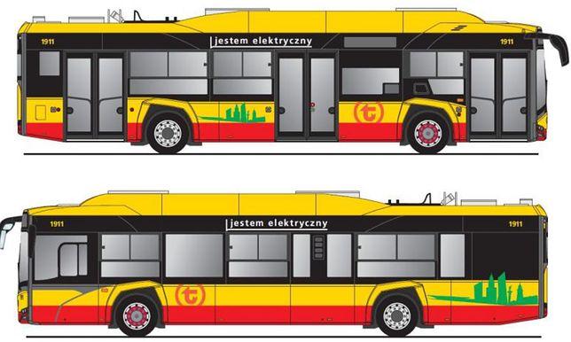 Nowe napisy na autobusach