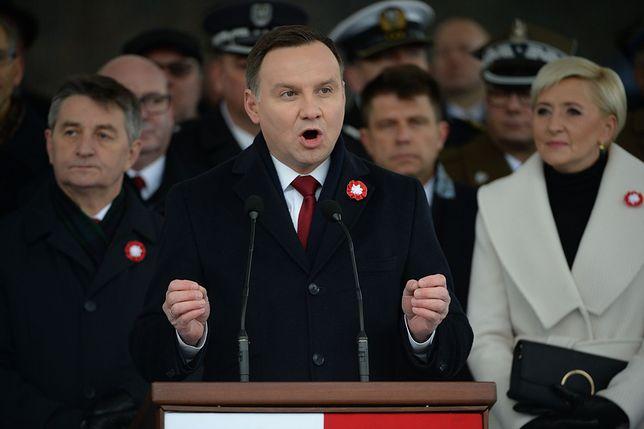Andrzej Duda chce wspólnych obchodów 100. rocznicy odzyskania niepodległości. Politycy komentują