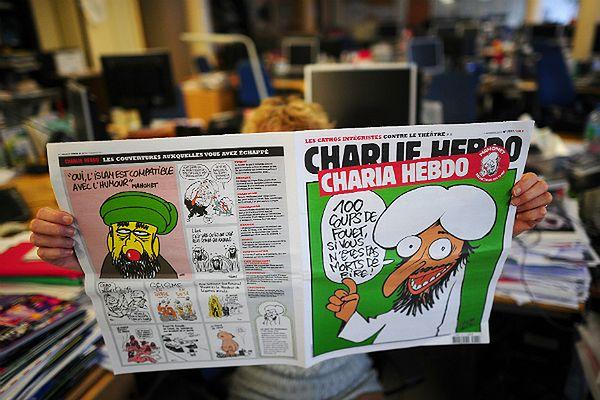 """Okładka """"Charlie Hebdo"""" z 2011 roku"""
