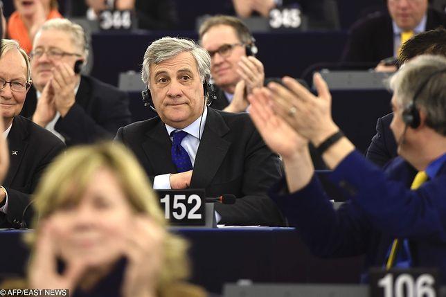 Wyniki wyborów do Parlamentu Europejskiego. Na zdjęciu szef PE A. Tajani.