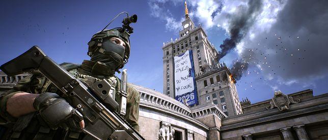 """Zniszczony Pałac Kultury w grze """"World War 3"""", autorstwa The Farm 51"""