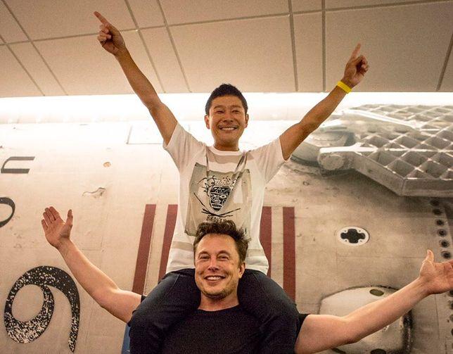 Kosmiczny turysta SpaceX i założyciel firmy, Elon Musk