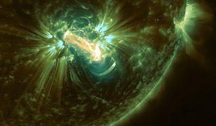 Rozbłysk klasy X zarejestrowany przez NASA SDO