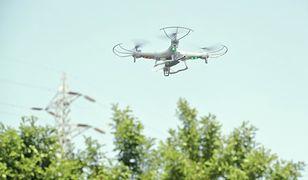 Dron zrobi zdjęcie złodziejowi
