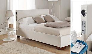 Sound Leather Bed - łóżko z wbudowanymi głośnikami