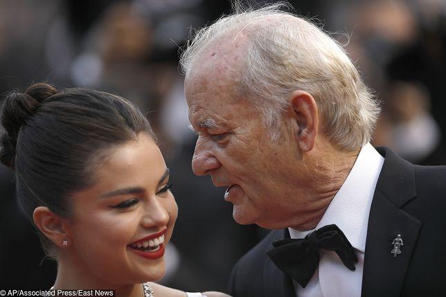 Selena Gomez i Bill Murray razem na czerwonym dywanie. Fani są oburzeni ich zachowaniem