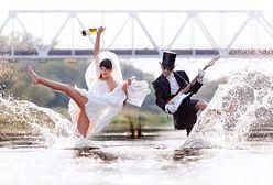 Za drogi ślub w plenerze