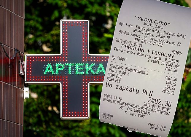 The most famous receipt and pharmacy that all of Poland knew during the pre-election debate.