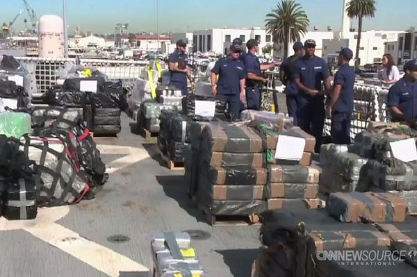 18 nalotów na statki i łodzie - przechwycono 14 ton narkotyków