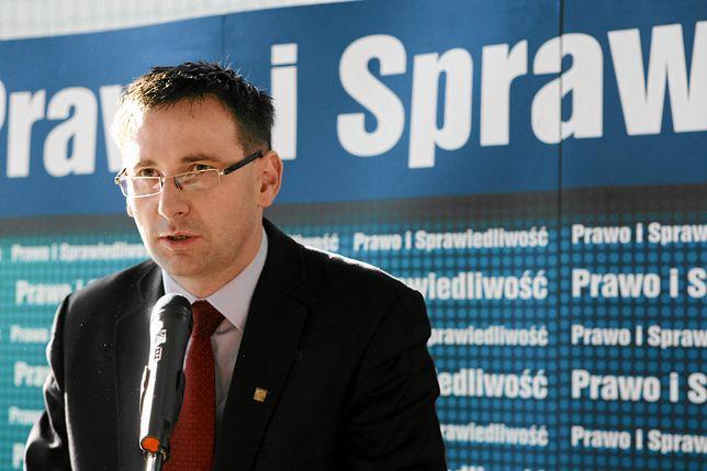 Daniel Obajtek jeszcze jako wójt Pcimia. Dziś jest wymieniany jako kandydat do rządu Mateusza Morawieckiego.