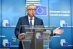 """Juncker komentuje działania polskiego parlamentu. """"Obserwuję je z najwyższą sympatią"""""""