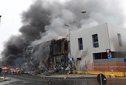Włochy. Samolot uderzył w budynek. Wszyscy pasażerowi zginęli