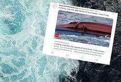 Katastrofa w Korei Południowej. Wywrócił się statek